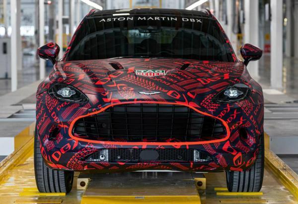 Aston Martin DBX. Скетчи  Aston Martin