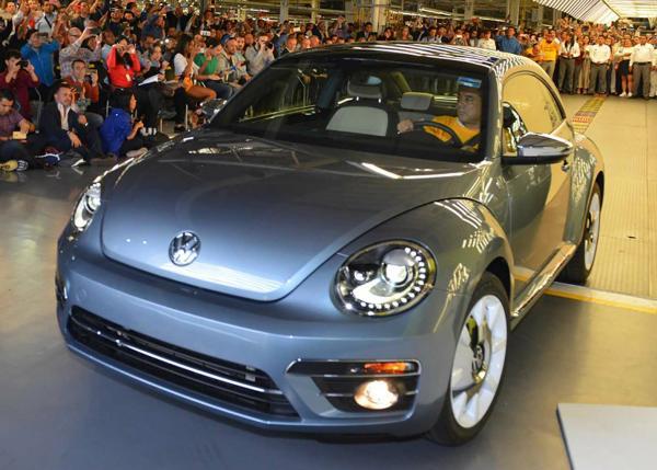 VW Beetle Final Edition. Фото VW