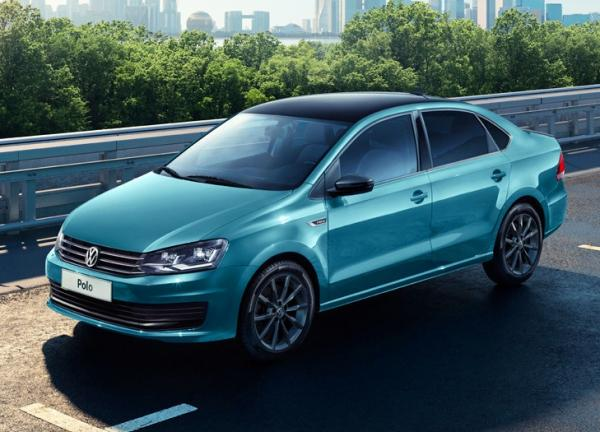Volkswagen Polo  Football Edition. Фото VW