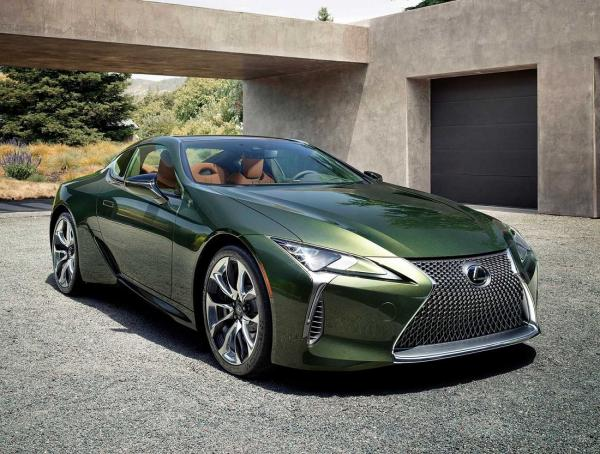 Lexus LC  Inspiration Series. Фото Lexus