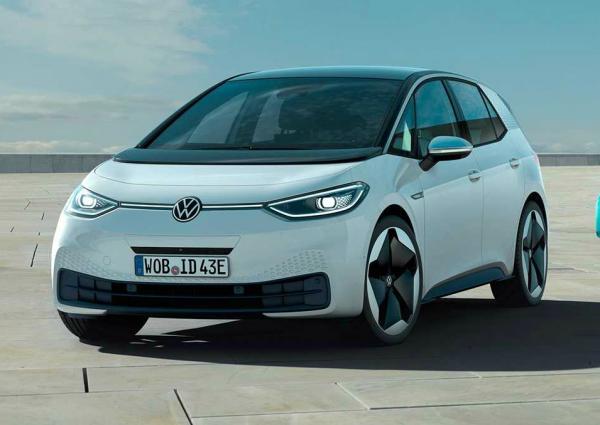 Volkswagen ID.3. Фото Volkswagen