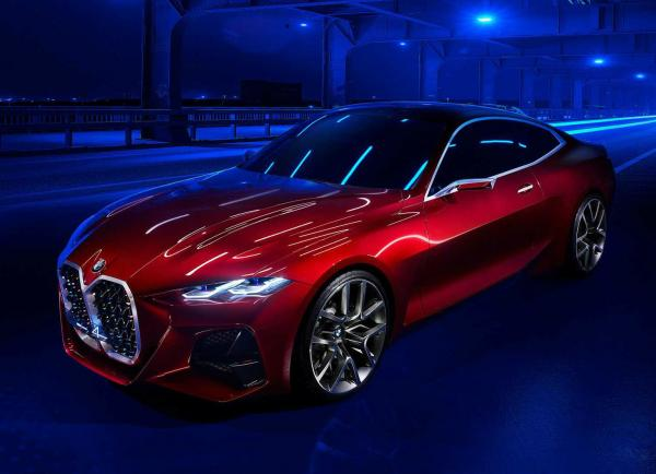 BMW Concept 4. Фото BMW