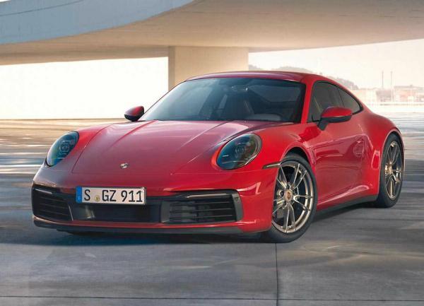 Porsche 911 Carrera 4. Фото Porsche