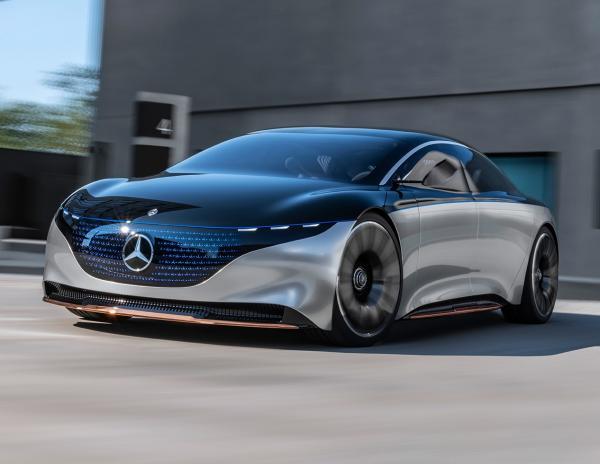 Mercedes Vision EQS. Фото Mercedes-Benz