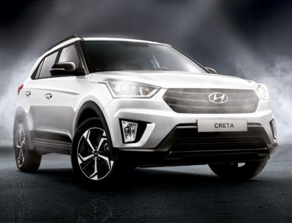 Hyundai Creta Rock Edition. Фото Hyundai