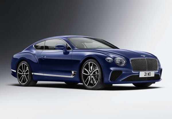 Bentley Continental GT. Фото Bentley