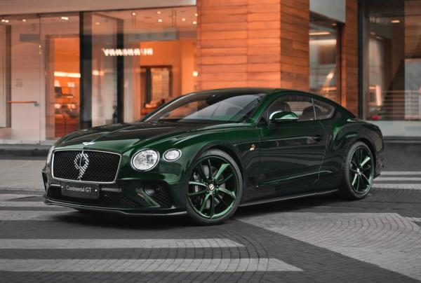 Bentley Continental GT Number 9 Edition. Фото Bentley