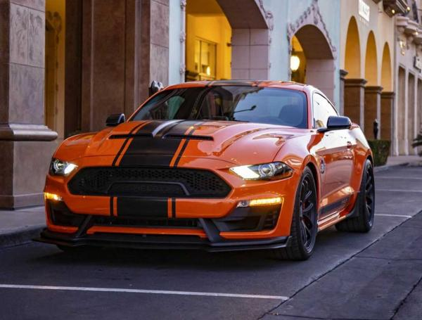 Ford Mustang Super Snake. Фото Ford