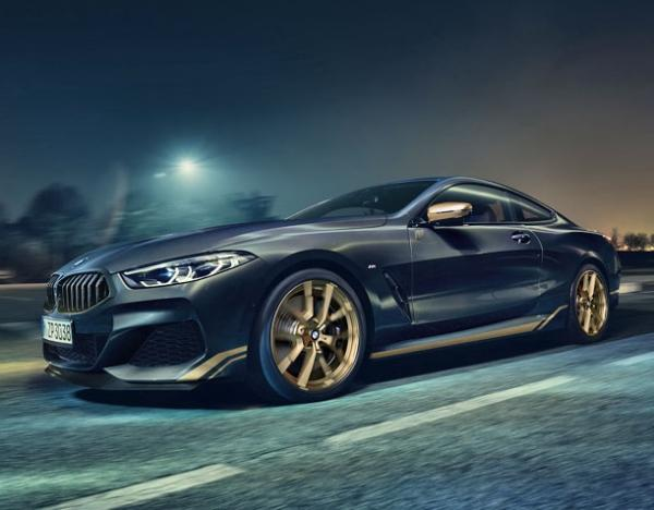 BMW  8-Series Golden Thunder Edition. Фото BMW