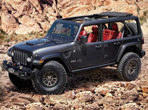 Jeep Wrangler Rubicon 392. Фото Jeep