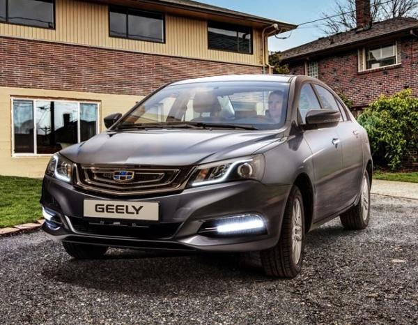 Geely Emgrand 7. Фото Geely