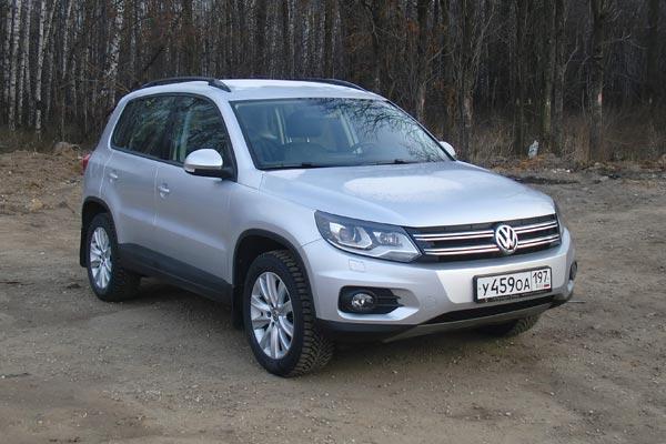 По ходовым качествам Volkswagen Tiguan не имеет себе равных среди одноклассников.