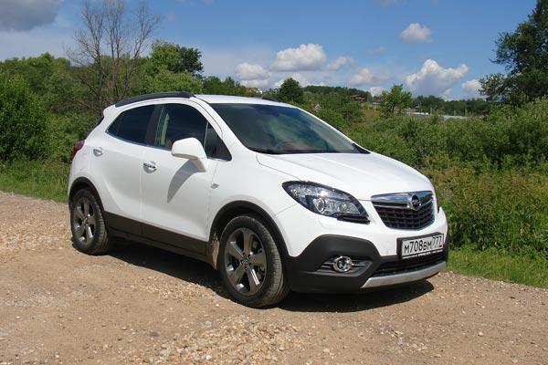 Opel Mokka, не обладая высокими техническими характеристиками, отличается современным дизайном и высокой надежностью