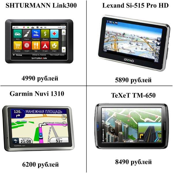 Автомобильные навигаторы с поддержкой GSM/GPRS