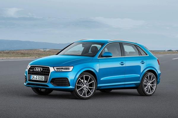 Audi Q3 отличается хорошей управляемостью и динамикой, но при этом дорожный  просвет у него небольшой