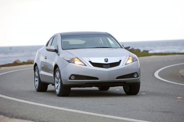 Новая Acura хороша и анфас….