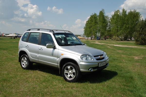 Дизайн Chevrolet Niva до сих пор актуален