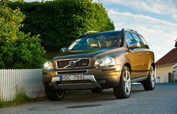 Volvo XC90 2012 модельного года.