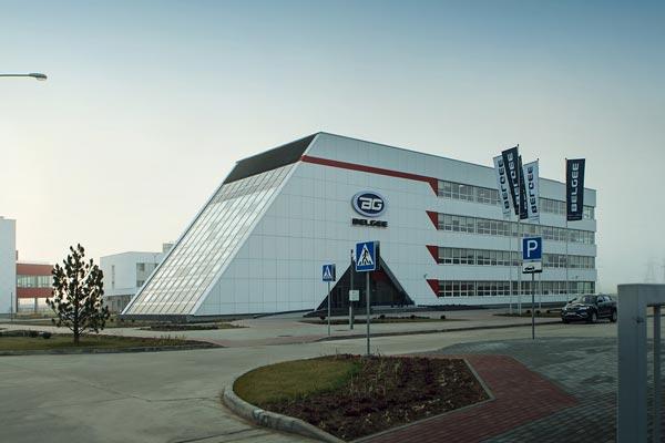 Завод Geely в Беларуси расcчитан на выпуск более 60000 автомобилей в год