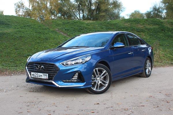 Новый седан Sonata стал флагманом модельного ряда Hyundai