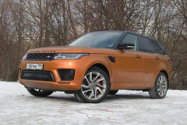 Range Rover Sport – это настоящая британская классика, но со спортивным уклоном