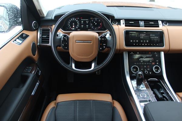 Салон Range Rover Sport обновился в стиле модели Velar