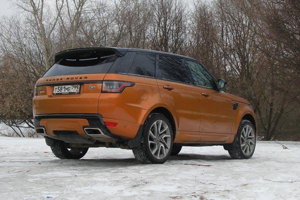 Range Rover Sport – практически идеальный автомобиль на каждый день