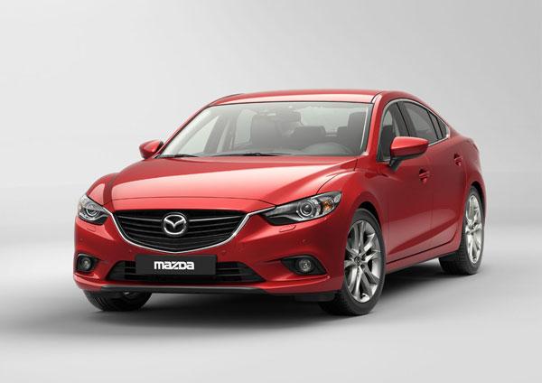 Седан Mazda6 третього покоління