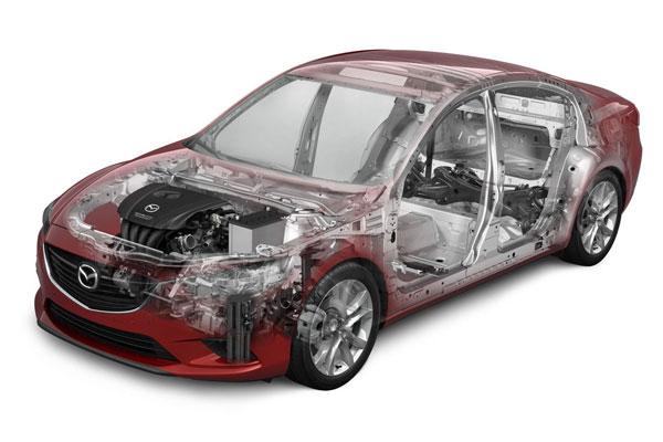 Компонування седана Mazda6