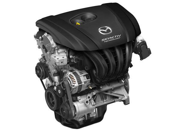Дволітровий бензиновий двигун SKYACTIV-G