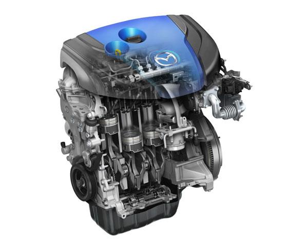 Дизельний двигун SKYACTIV-D об'ємом 2,2 літра
