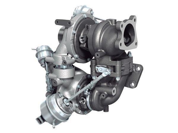 Агрегат наддуву дизельного двигуна SKYACTIV-D