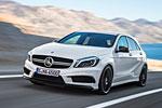 Белое облако в ночном стиле (Mercedes-Benz A45 AMG)