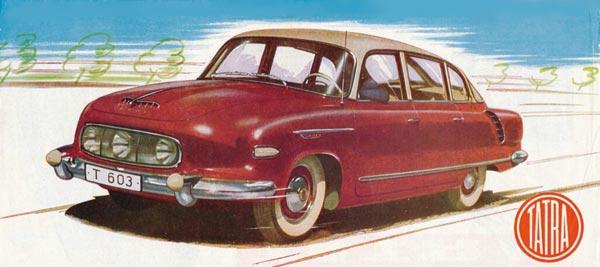 Новая T603 дебютировала в 1956 как седан «представительского» класса.