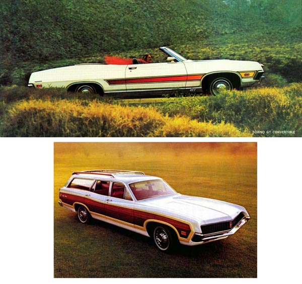В модельной «линейке» 1971 присутствовали также 2-дверные кабриолеты и 5-дверные «универсалы».