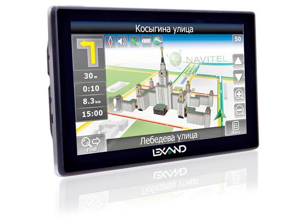 Навигатор Lexard STR 7100 HDR