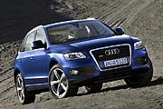 Пятерка на отлично (Тест-драйв Audi Q5)