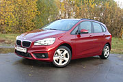 Смена вектора (BMW 218i Active Tourer)
