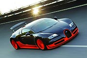Тест-драйв Bugatti Veyron 16.4 Super Sport
