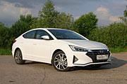 Огранка до срока (Тест-драйв Hyundai Elantra 2.0)