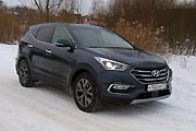 Тест-драйв Hyundai Santa Fe 2.4
