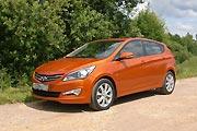 Оранжевый хит (Hyundai Solaris)