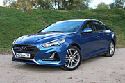 Современная классика (Тест-драйв Hyundai Sonata)