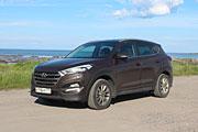 Тест-драйв Hyundai Tucson 2.0 CRDi