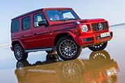 Икона: Gelandewagen отмечает сорокалетие новым автомобилем