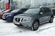 Кроссоверы Nissan покоряют Сибирь