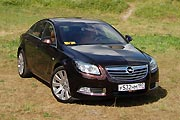 Тройная экономия (Тест-драйв Opel Insignia)