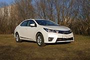 Верность традициям (Тест-драйв Toyota Corolla)