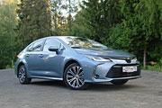 Японский долгожитель (Тест-драйв Toyota Corolla 1.6)