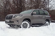 Тест-драйв Toyota Land Cruiser Prado 4.0
